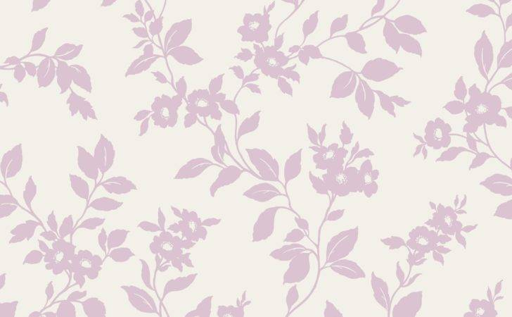 Colours Mayflower Pink White Floral Mica Effect