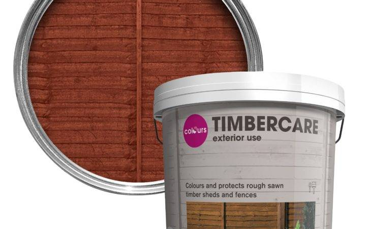 Colours Timbercare Dark Brown Shed Fence Stain
