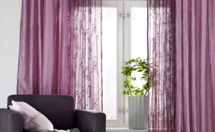 Combine Colors Textures Curtains Interior