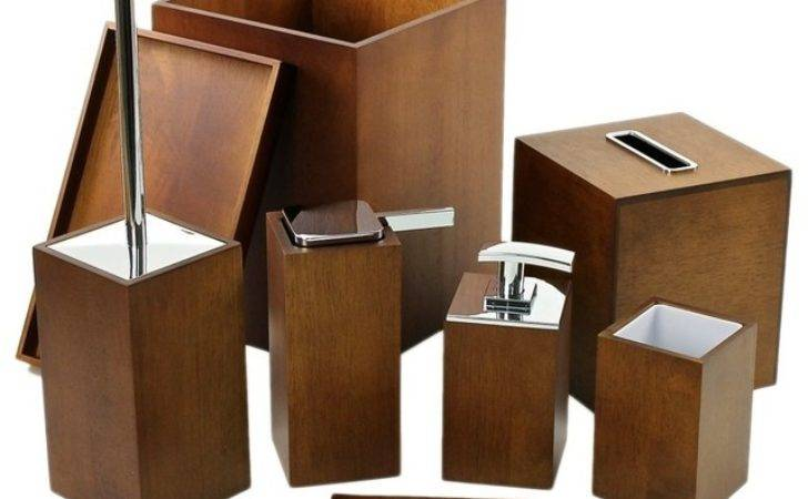 Complete Bathroom Accessory Set Gedy Contemporary
