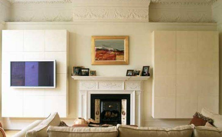 Concealed Hanging Alcove Storage