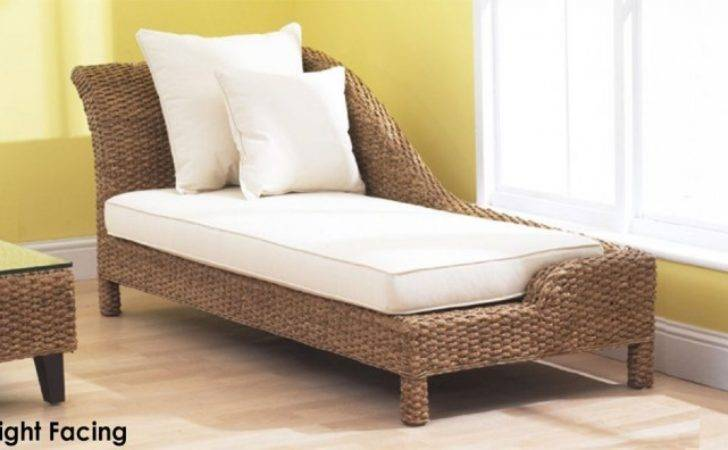 Conservatory Chaise Lounge Old Fashion Style Natural