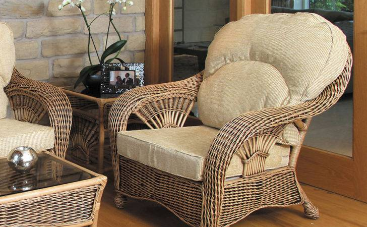 Conservatory Furniture Set Rattan High Back Chair