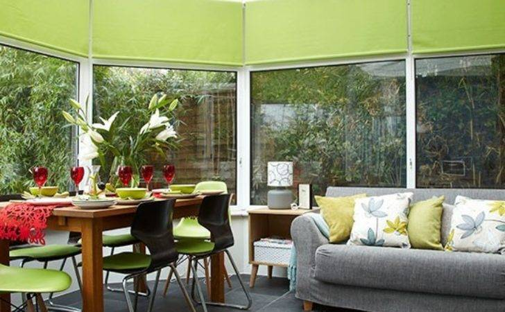 Conservatory Lime Green Accents