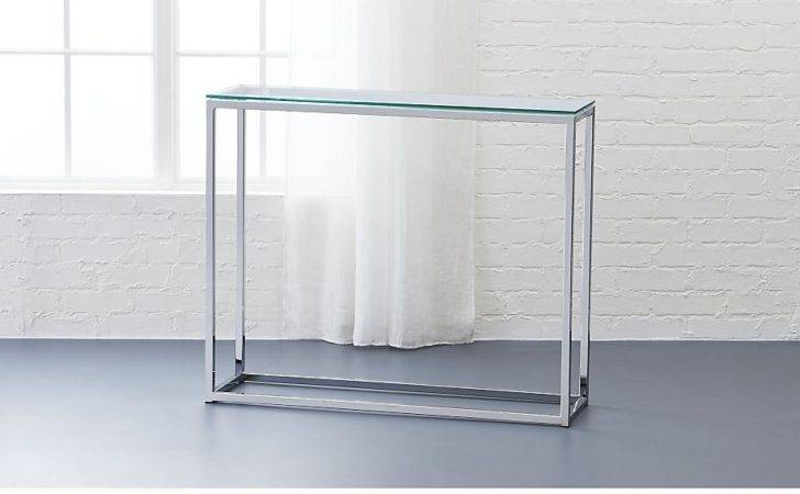 Console Tables Awesome Small Glass Table