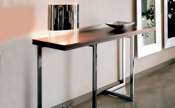 Contemporary Console Tables Drawers Brokeasshome