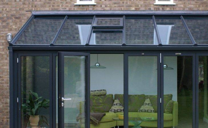 Contemporary Glass Extensions Stormclad
