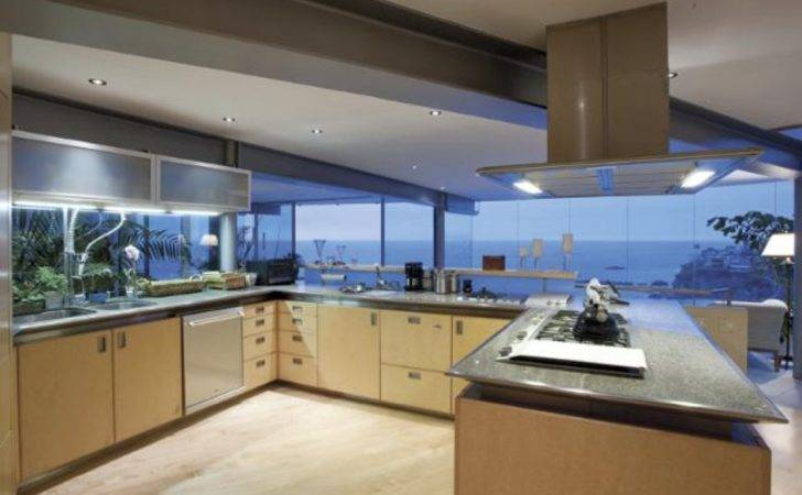 Contemporary House Decor Beach Kitchen Ideas