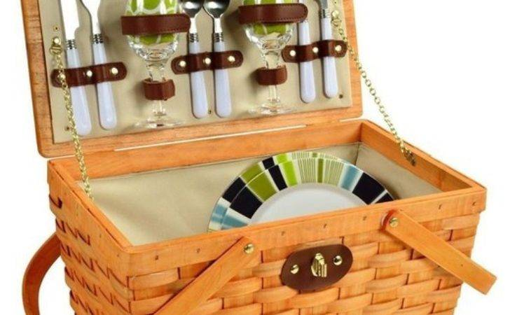Contemporary Picnic Basket Two Traditional