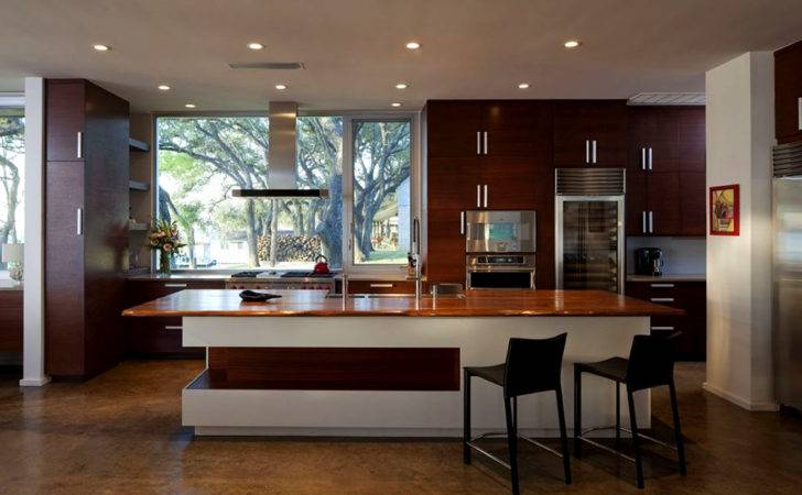 Contemporary Wooden Material Kitchen Design
