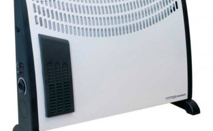 Convector Heater Heat Settings Thermostat Turbo