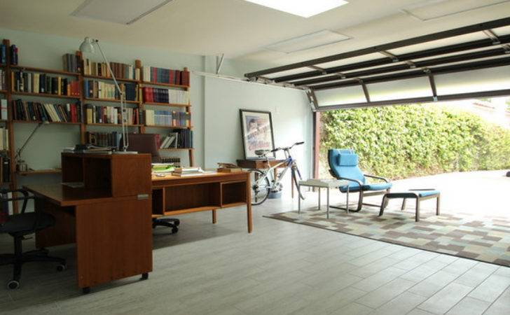 Convert Your Garage Into Home Office
