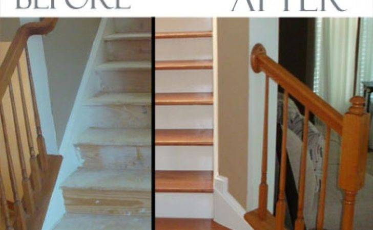 Converting Carpeted Stairs Hardwood More Decor