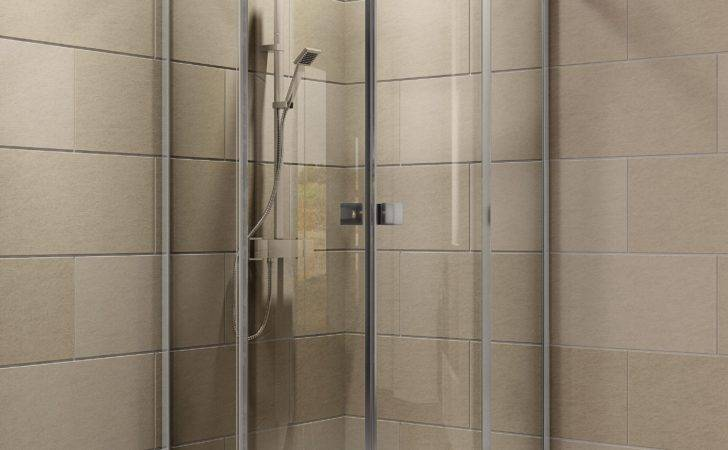 Cooke Lewis Luxuriant Quadrant Shower Enclosure Tray