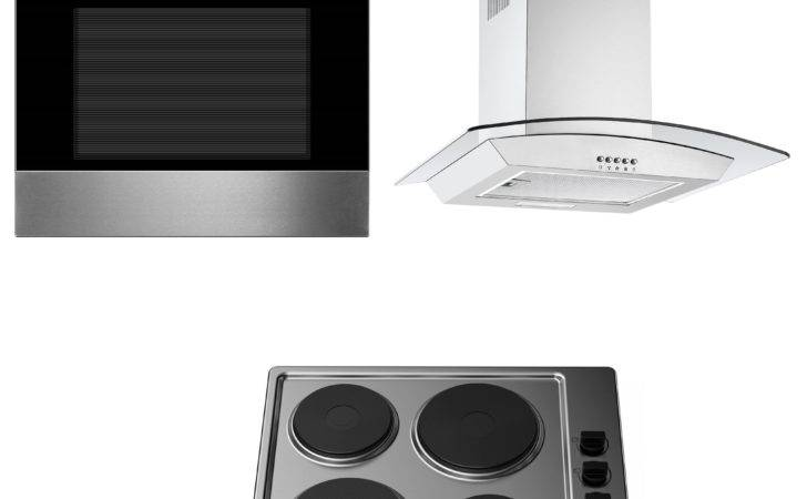 Cookology Built Static Oven Electric Hob Curved