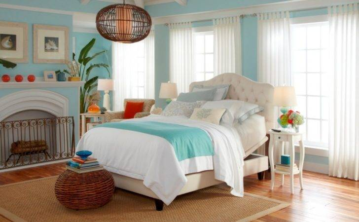 Cool Beach Style Bedroom Design Ideas