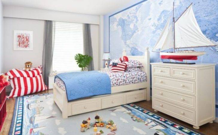 Cool Contemporary Boys Bedroom Ideas Blue