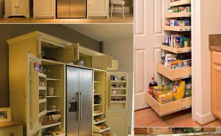 Cool Creative Kitchen Pantry Designs