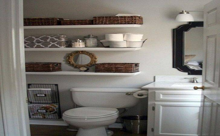 Cool Ideas Small Bathroom Storage Makeover