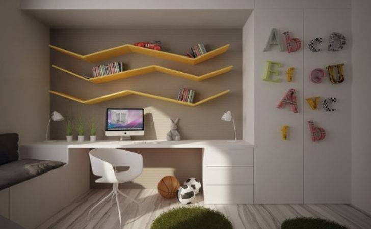 Cool Kids Bedrooms Colorful Space Home Design