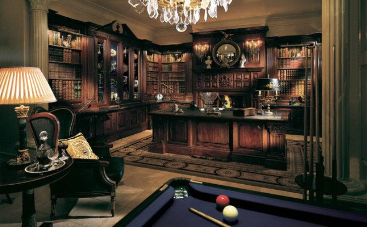 Cool Luxe Study Traditional Home Office London