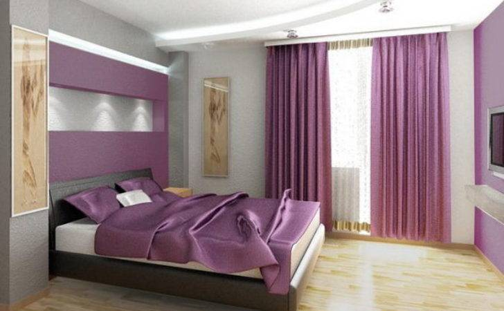 Corgeous Modern Purple Bedroom Ideas