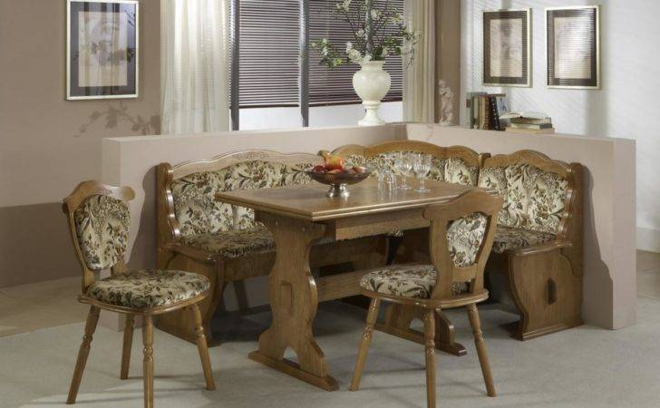 Corner Kitchen Table Country Style Home Inspiring