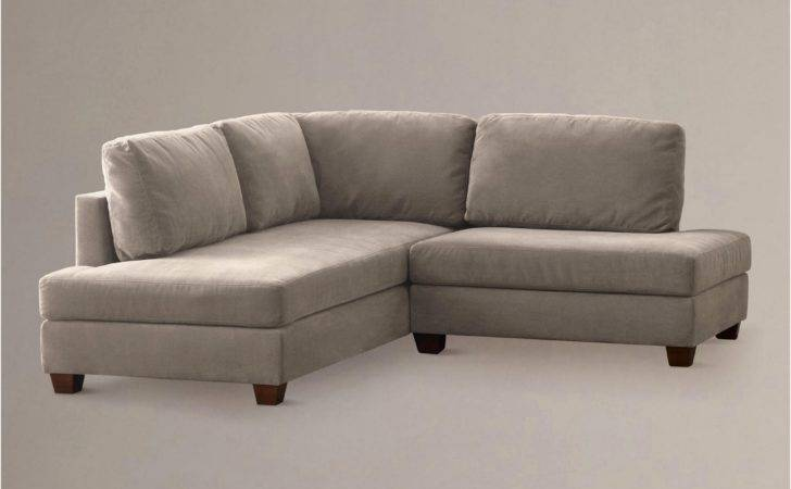 Corner Loveseat Small Armless Settee Sectional