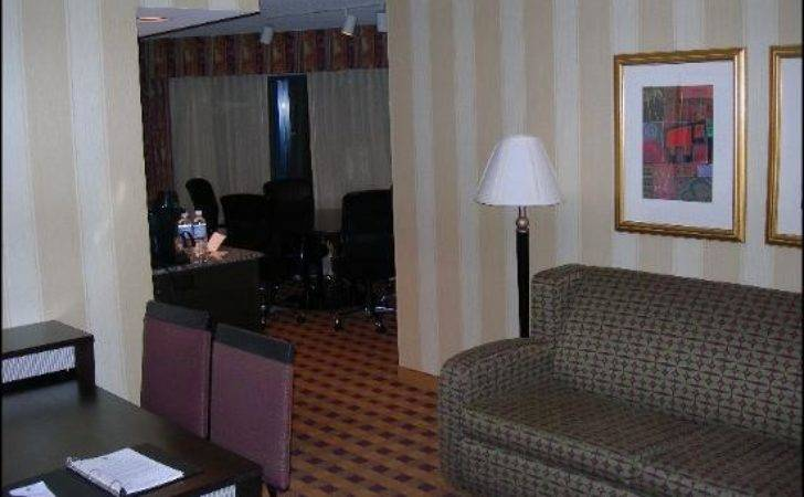 Corner Suite Small Table Embassy Suites