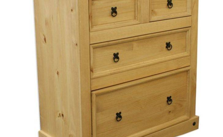 Corona Mexican Chest Drawers Solid Pine