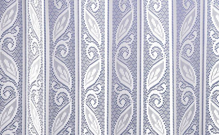Corsica Lace Pleated Blind Curtains