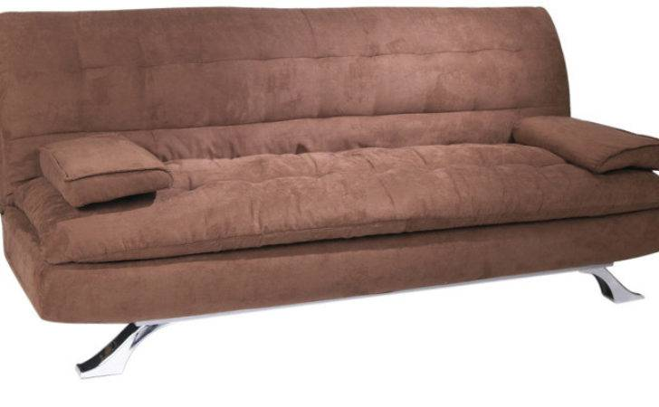Cosy Supersoft Sofa Bed Brown Colour Furny
