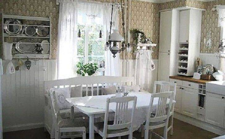 Cottage Country Kitchen Decorating Ideas