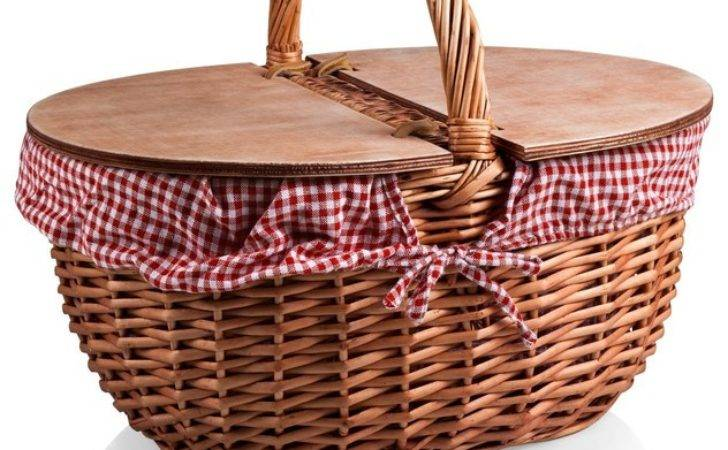 Country Basket Traditional Picnic Baskets Time