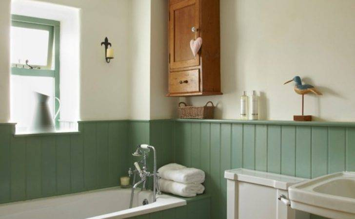 Country Bathroom Tongue Groove Panelling