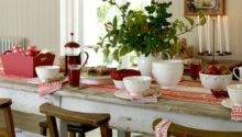 Country Christmas Table Decorating Ideas