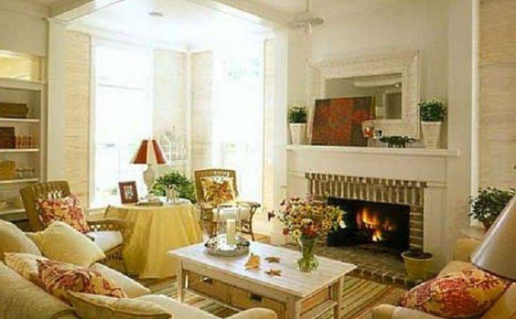 Country Cottage Decor Design Living Room