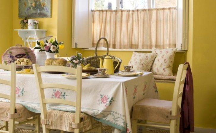 Country Cottage Style Dining Housetohome