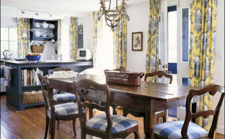 Country Dining Room Design Ideas