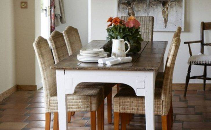 Country Dining Room Furniture Decorating