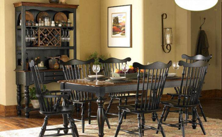 Country Dining Room Sets Style Chairs