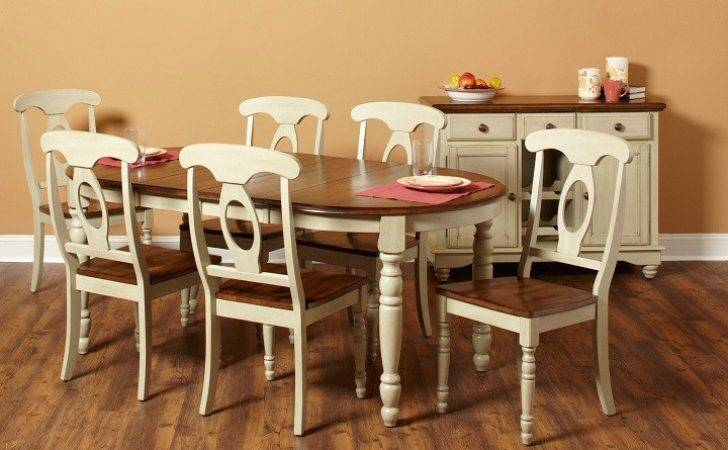 Country French Dining Table Chairs Marceladick