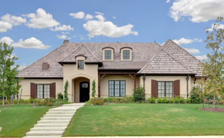Country French Traditional Exterior Dallas