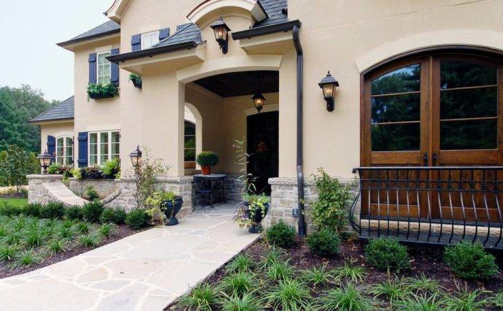Country Home Exterior Designs Decorating Ideas