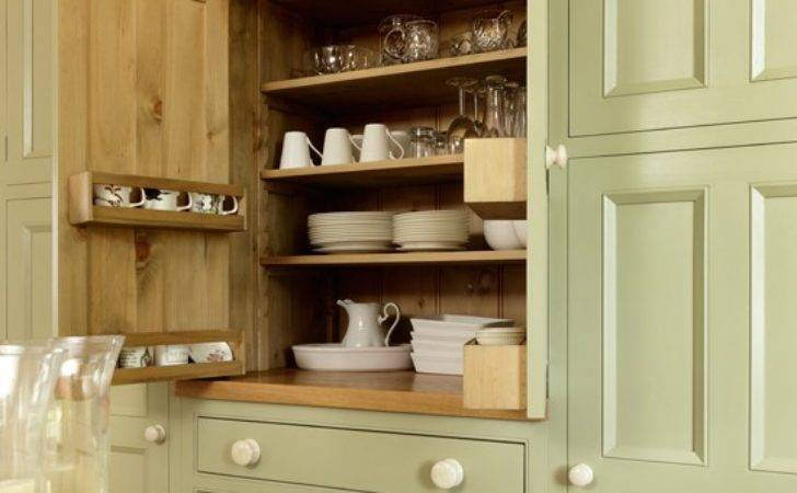 Country Kitchen Painted Cupboard Housetohome