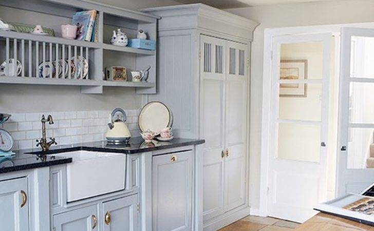 Country Kitchen Painted Units Belfast Sink