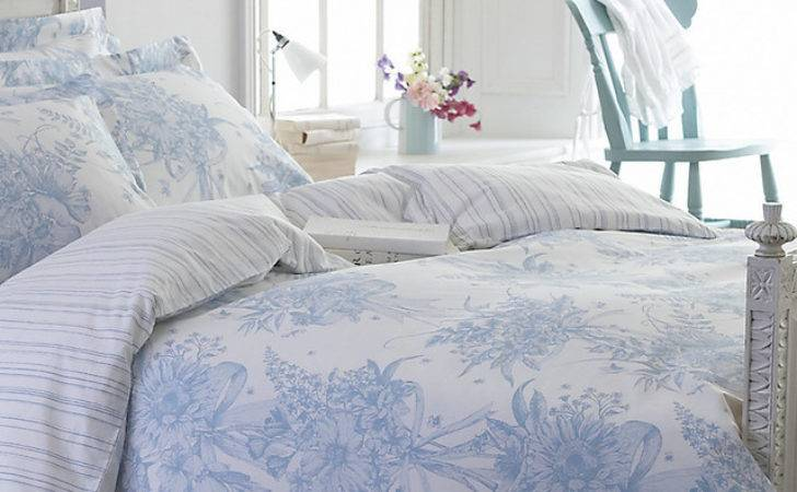 Country Living Ribbon Bouquet Bedding Traditional