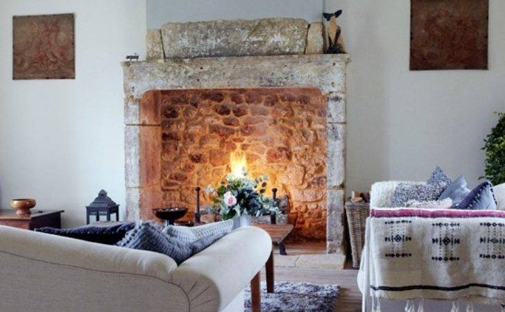 Country Living Room Open Fire Design Housetohome