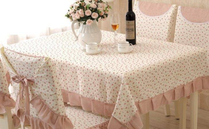 Country Style Elegant Table Cloth Rectangular Tablecloths