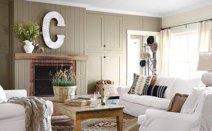 Country Theme Living Room